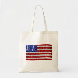 Vintage American Flag Bag