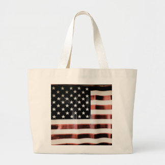 Vintage American Flag Canvas Bags