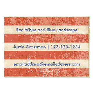Vintage American Flag - Business Card