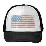 Vintage American Flag Cap