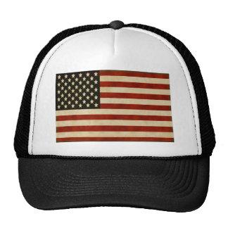 Vintage American Flag GIFTS Hat