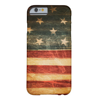 Vintage American Flag iphone 6 Case Barely There iPhone 6 Case