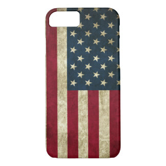Vintage American flag iPhone 8/7 Case