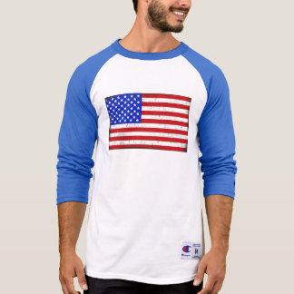 Vintage American Flag Men's T-Shirt