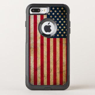 Vintage American Flag OtterBox Commuter iPhone 7 Plus Case