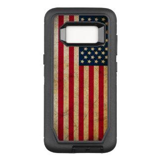 Vintage American Flag OtterBox Defender Samsung Galaxy S8 Case