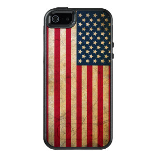 Vintage American Flag OtterBox iPhone 5 Case