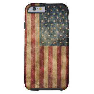 Vintage American Flag OtterBox iPhone 6/6S CASE