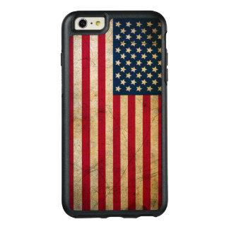 Vintage American Flag OtterBox iPhone 6/6s Plus Case