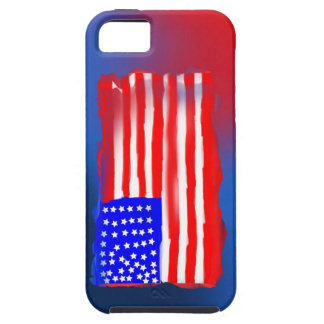 Vintage American Flag Phone Case iPhone 5 Case