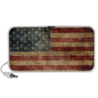 Vintage American Flag Portable Speaker