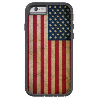 Vintage American Flag Tough Xtreme iPhone 6 Case