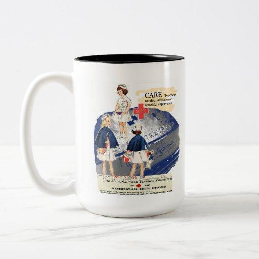 Vintage American Red Cross Mug