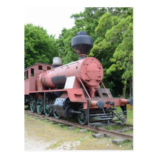 Vintage American Steam Locomotive Postcards