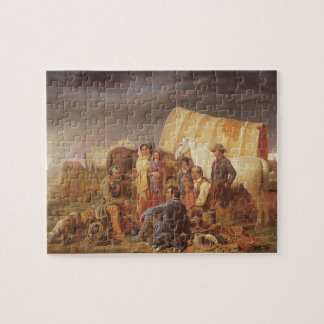 Vintage American West, Advice on Prairie by Ranney Jigsaw Puzzle
