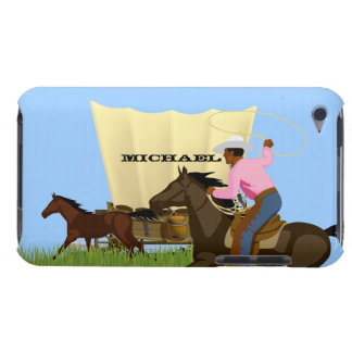 Vintage American Wild West Cowboy Life iPod Case iPod Case-Mate Cases
