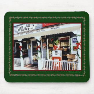 'Vintage Americana Christmas' Mousepad