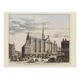 Vintage Amsterdam,Amsterdam, New Church Postcard