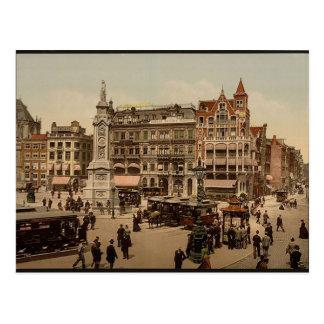 vintage Amsterdam  Holland Netherlands Postcard