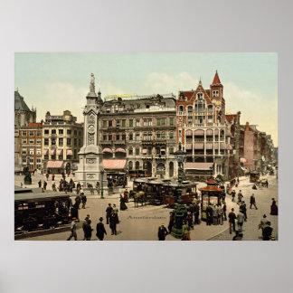 Vintage - Amsterdam, Netherlands Poster