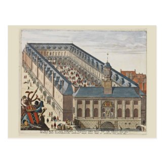 Vintage   Amsterdam, the Borse Postcard