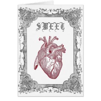 Vintage Anatomical Sweetheart Card