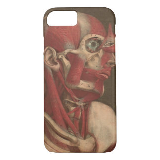 Vintage Anatomy | Head, Neck, and Shoulders iPhone 7 Case