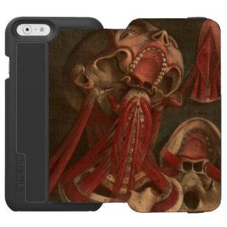 Vintage Anatomy | Neck and Face Incipio Watson™ iPhone 6 Wallet Case