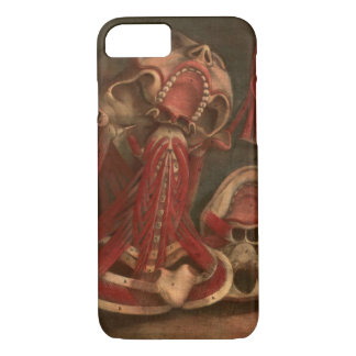 Vintage Anatomy | Neck and Face iPhone 7 Case