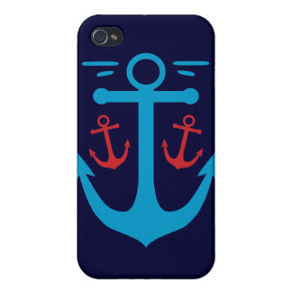 Vintage Anchor Covers For iPhone 4