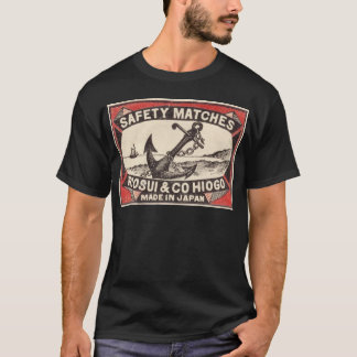 Vintage Anchor Matchbox Logo T-Shirt