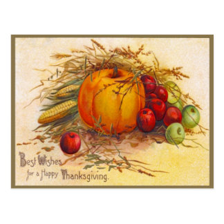 Vintage and Beautiful Thanksgiving Postcard