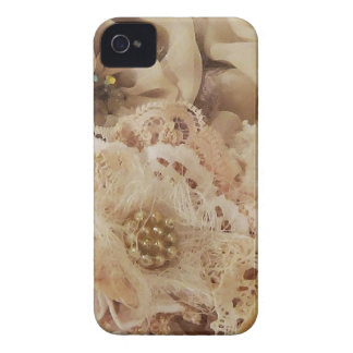 vintage and pearls Case-Mate iPhone 4 cases