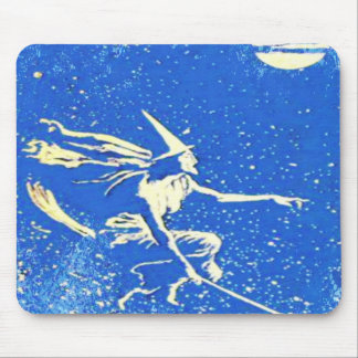 Vintage Andrew Lang Blue Fairy fairytale mouse pad
