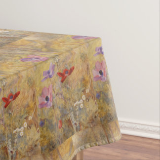 Vintage Anemones Henry Roderick Newman Tablecloth