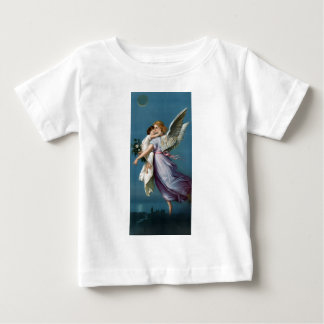 Vintage Angel And Child Illustration Baby T-Shirt