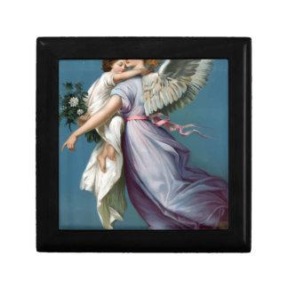 Vintage Angel And Child Illustration Gift Box