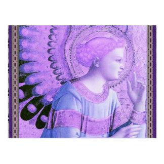 Vintage Angel Artwork Postcard
