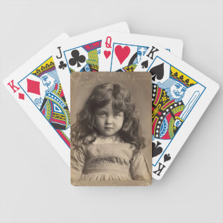Vintage Angel Bicycle Playing Cards