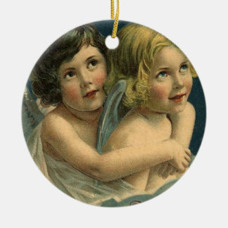 Vintage Angel Christmas Ornament