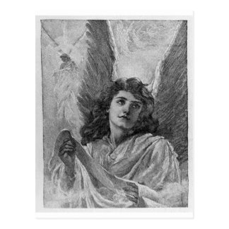Vintage Angel Christmas Postcard