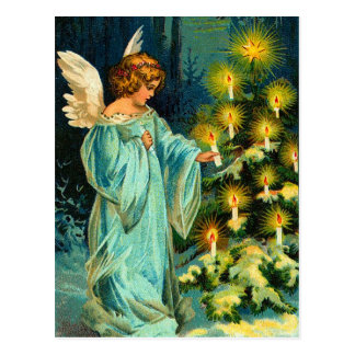 Vintage Angel Christmas Postcards