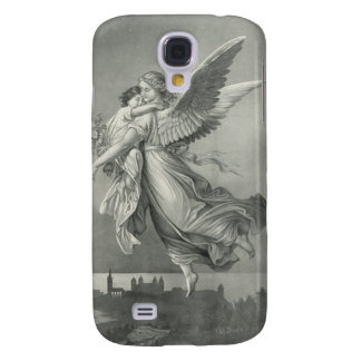 Vintage Angel i Galaxy S4 Cover