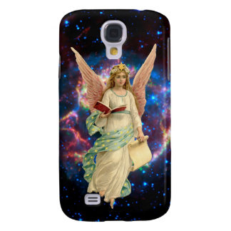 Vintage Angel in Heaven Galaxy S4 Cover