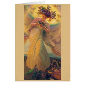 Vintage - Angel of the Birds, Card