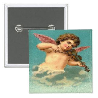 Vintage Angel Playing Violin Pins
