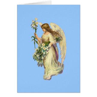 Vintage Angel Prayer Note Card