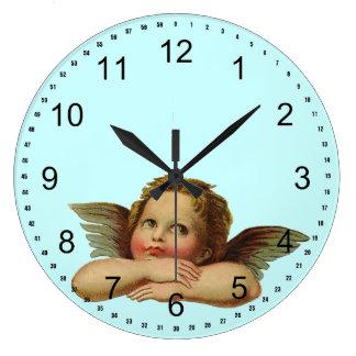 Vintage Angel Wall Clocks