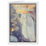 Vintage Angels by Florence Harrison Greeting Card