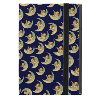 Vintage Angels in Moons iPad Mini Cover